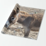 Adorable Donkey Wrapping Paper