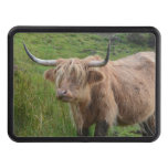 Adorable Highland Cow Trailer Hitch Cover