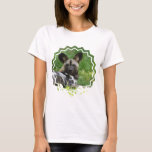 African Wild Dog Ladies Fitted T-Shirt