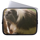 Cotton Topped Tamarin Monkey Laptop Sleeve