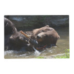 Cute Brown Bear Placemat