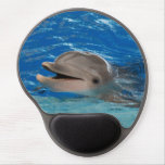 Cute Chattering Dolphin Gel Mouse Pad