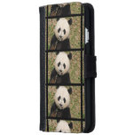 Cute Giant Panda Bear iPhone 6/6s Wallet Case