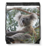 Cute Koala Bear Drawstring Bag