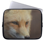 Cute Red Fox Laptop Sleeve