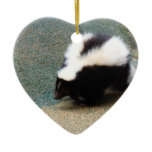 Cute Skunk  Ornaments