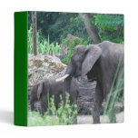 Elephant Family  Binder