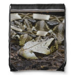 Gabon Viper Drawstring Bag