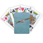 Gliding Pelican Bicycle Playing Cards