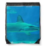 Hammerhead Shark Drawstring Bag