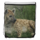 Hyena Drawstring Backpack
