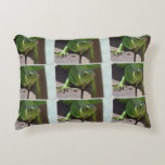 Iguana in the Tropics Accent Pillow