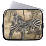 Mother and Baby Zebra  Notebook Sleeve