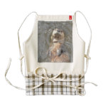 Otter Back Float Zazzle HEART Apron