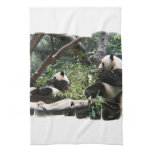 Panda Bears Kitchen Towel