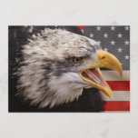 Patriotic Eagle Invitation