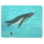 Penguin Swimming Underwater Journal
