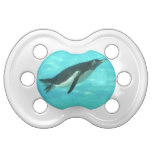 Penguin Swimming Underwater Pacifier