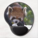 Prowling Red Panda Gel Mouse Pad