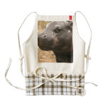 Pygmy Hippo Zazzle HEART Apron