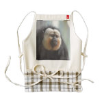 Saki Monkey Zazzle HEART Apron