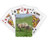 Sheep Family Playing Cards