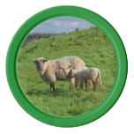 Sheep Family Set Of Poker Chips