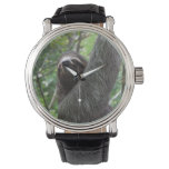 Sloth Climbing Tree Wrist Watch