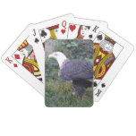Standing American Bald Eagle Playing Cards