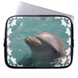 Starring a Dolphin Laptop Sleeve