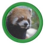 Sweet Red Panda Bear Poker Chips Set
