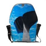 Tail of a Whale Messenger Bag