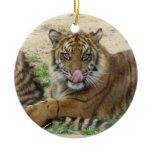 Tiger Cubs Ornament