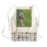 Wild Giraffe Zazzle HEART Apron