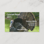 Wild Turkey Business Card