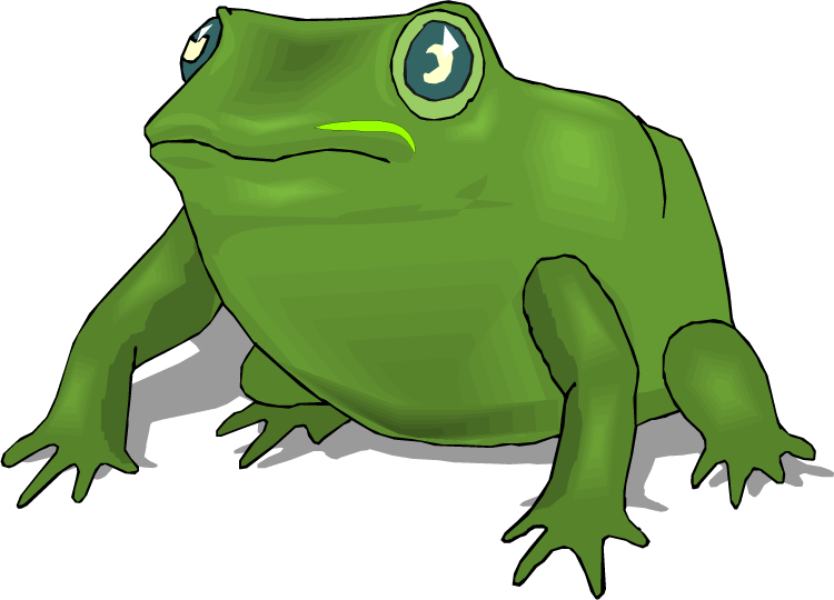 green frog clipart - photo #33