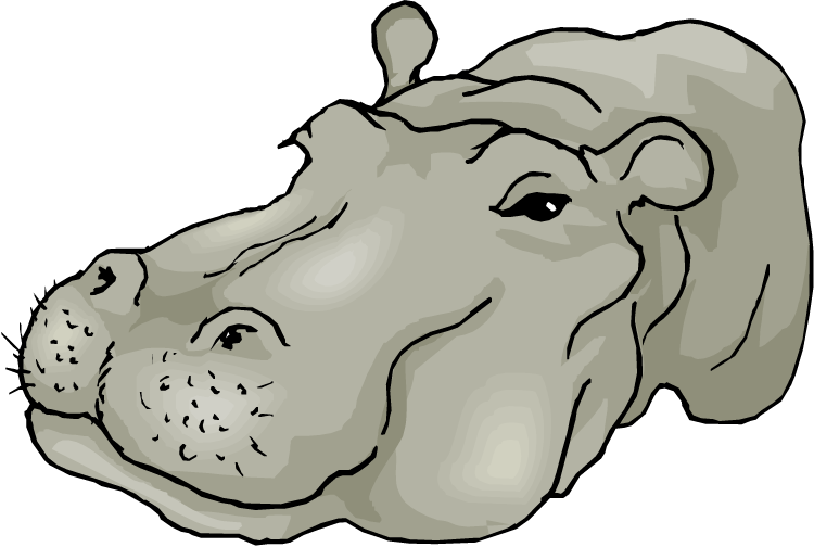 Free Hippo Clipart