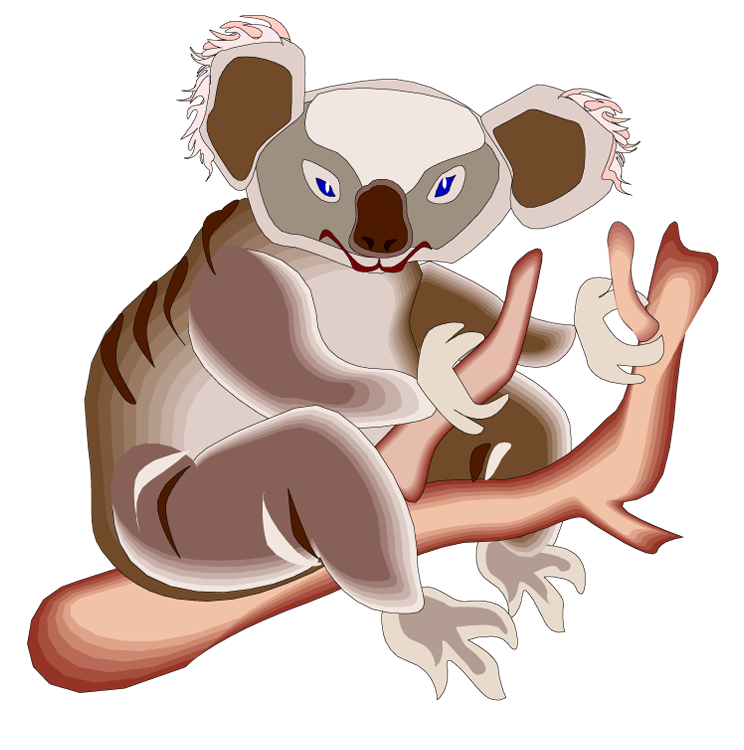 Free Koala Clipart