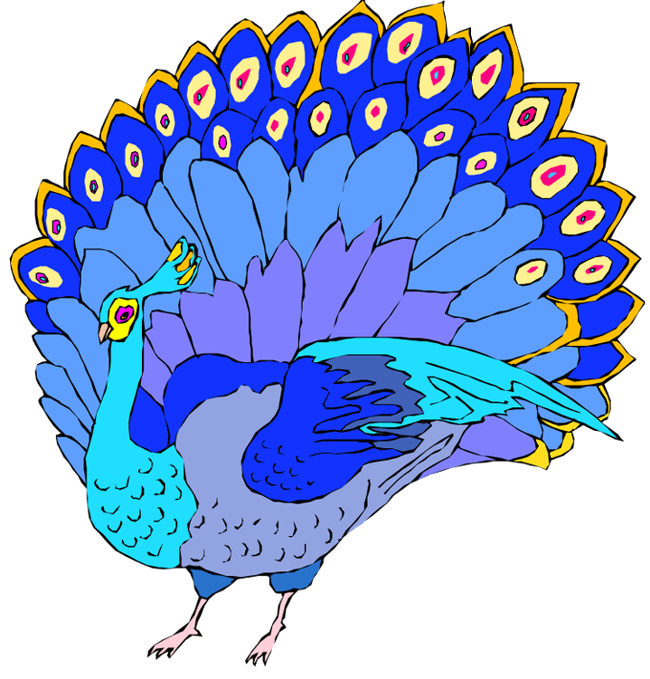 clipart pictures peacock - photo #47