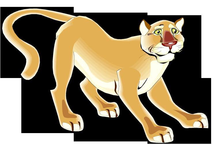 Free Puma Clipart