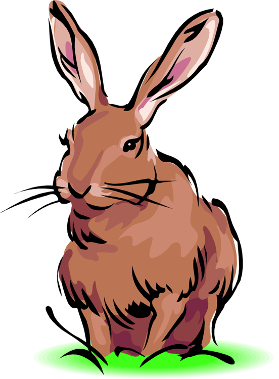 Free Rabbit Clipart
