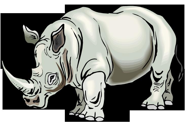Free Rhino Clipart