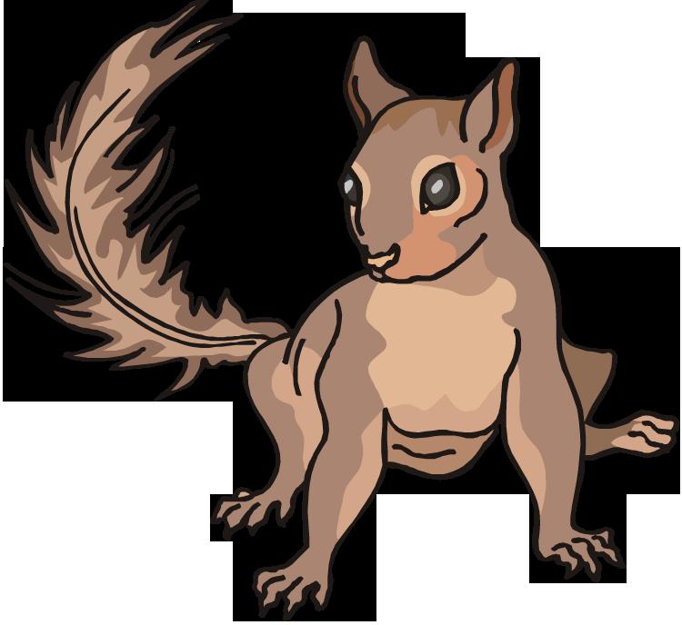 Free Squirrel Clipart