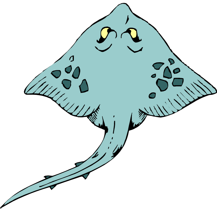 Stingray Clip Art Stingray clipart