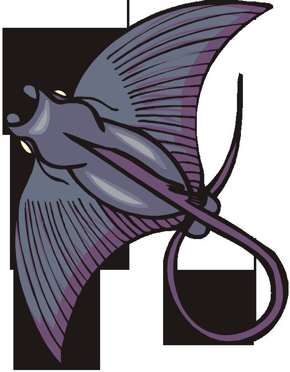 Stingray Clip Art Stingray clipart