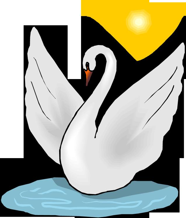 Swan Lake Clipart Free Swan Clipart
