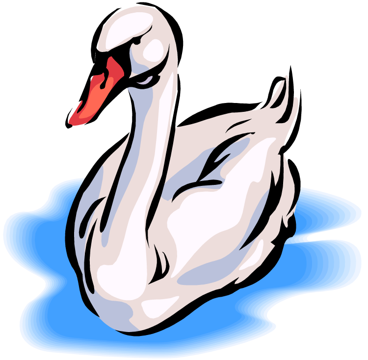 Swan Clip Art Pictures To Pin On Pinterest