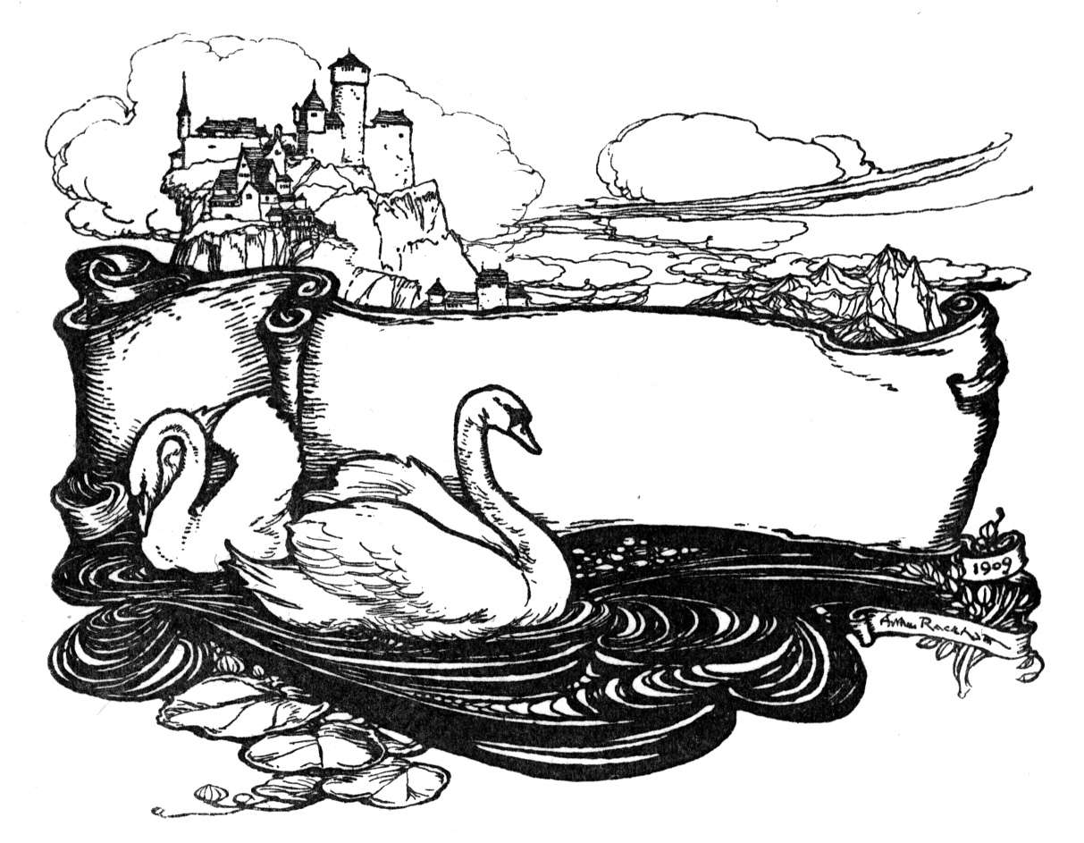 free swan lake coloring pages - photo#23